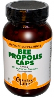 country-life,-gluten-free,-bee-propolis-caps,-500-mg,-100-veggie-caps