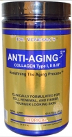 Dr. Venessa's, Anti-Aging 3, Collagen Type I, II & III, Tropical, 21.7 oz (615 g)