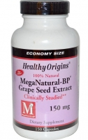 healthy-origins,-meganatural-bp-grape-seed-extract,-150-mg,-150-capsules