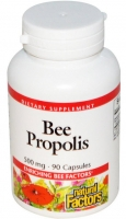 natural-factors,-bee-propolis,-500-mg,-90-capsules