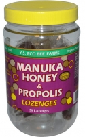 y.s.-eco-bee-farms,-manuka-honey-&-propolis-lozenges,-active-15+,-20-lozenges,-3.2-oz-(92-g)